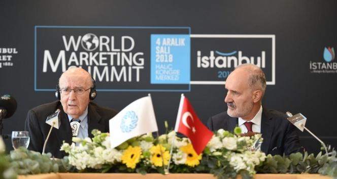 Modern pazarlamanın duayeni Kotler İstanbul'daydı