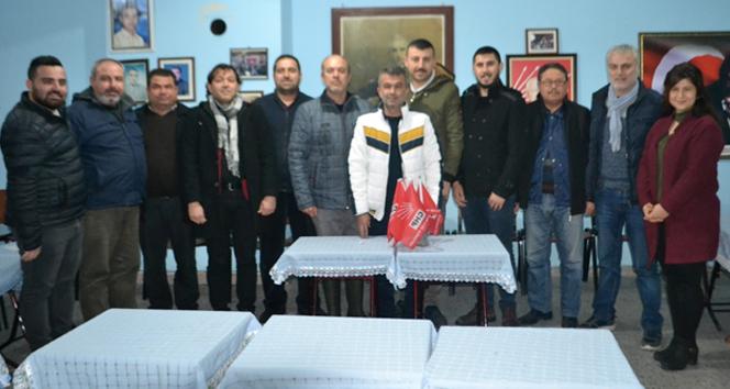 CHP Buldan teşkilatı toplu şekilde istifa etti