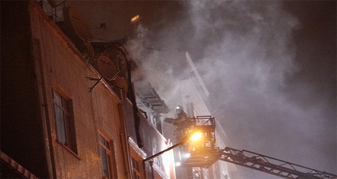 Bayrampaşa'da yangın! 4'ü çocuk, 7 kişi yaralandı