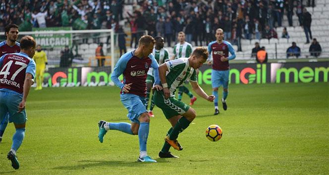 Trabzonspor ile Konyaspor 35. randevuda