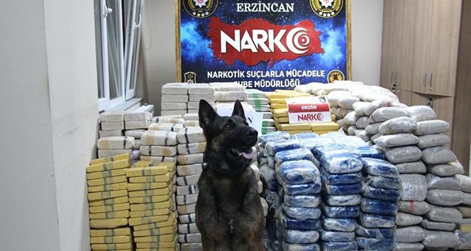 Erzincan'daki 1 tonluk eroinle ilgili iş adamına gözaltı