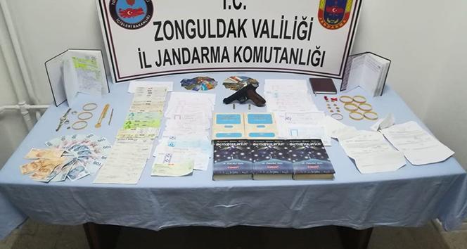 Zonguldak'ta tefecilik operasyonu: 8 gözaltı