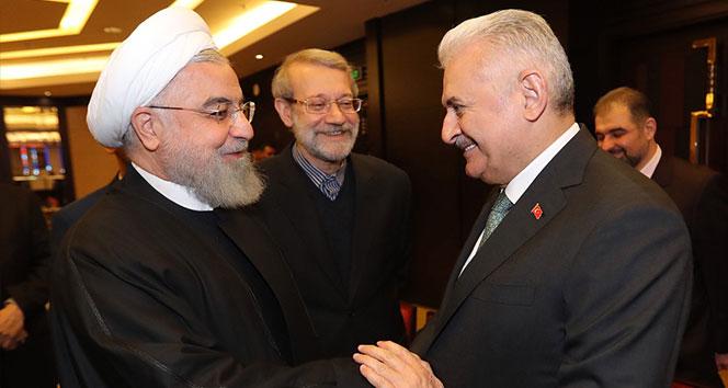Yıldırım, Ruhani ile görüştü