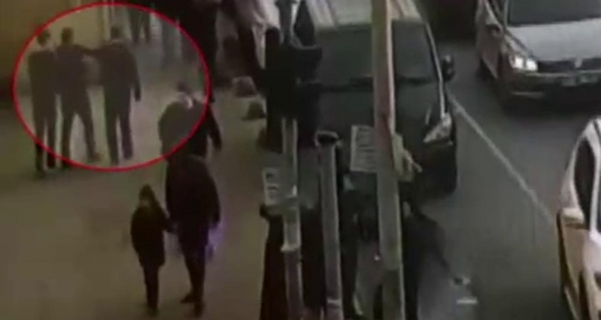 İstanbul'da güpegündüz gasp