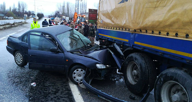 Malatya'da feci kaza: Karakol komutanı hayatını kaybetti