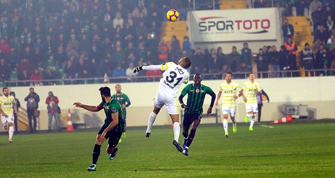 Fenerbahçe, Akhisar'da da kayıp! Akhisarspor - Fenerbahçe kaç kaç?