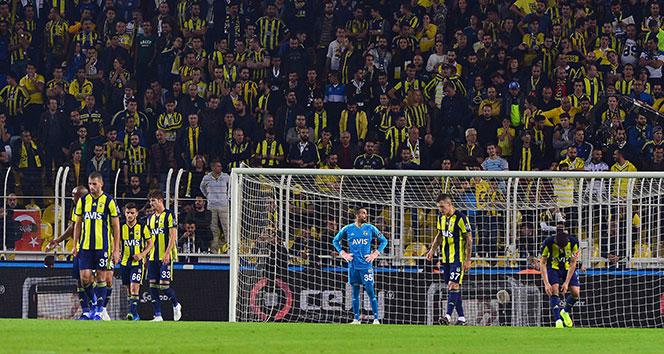 Tarihi tablo! Fenerbahçe dibi gördü