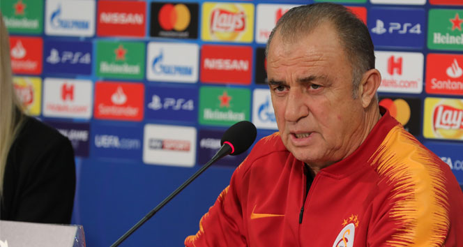 Fatih Terim: 'Oynanan oyundan dolayı memnunum'