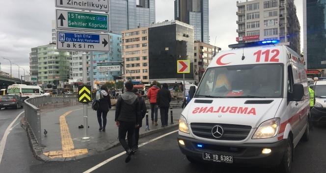 İstanbul'un göbeğinde 'insanlık ölmüş' dedirten olay