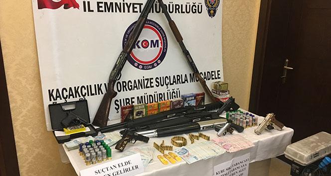 Osmaniye'de silah kaçakçılığı operasyonu