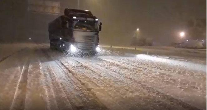 Bitlis'te kar yağışı başladı