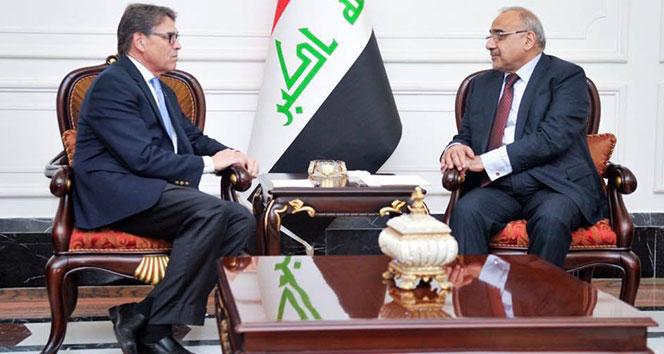 Irak Başbakanı Abdülmehdi: 'ABD'nin İran'a uyguladığı yaptırımların parçası değiliz'