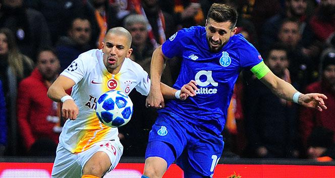 Feghouli sezonun ilk golünü Şampiyonlar Ligi'nde attı