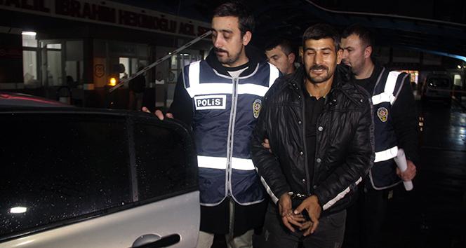 Hırsızlık şüphelisinden gazetecilere, 'Konya'ya beni meşhur et'