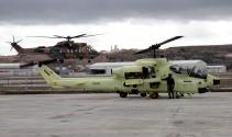 Askeri helikopterlerin bakımları emin ellerde