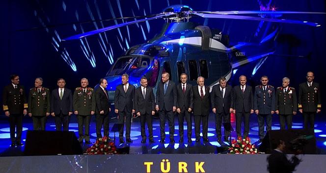 Cumhurbaşkanı Erdoğan: 'T625 helikopterinin ismi GÖKBEY'