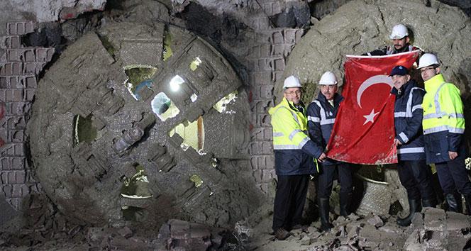 İstanbul'da ilk yerli makine ile içme suyu tüneli kazı çalışmaları tamamlandı