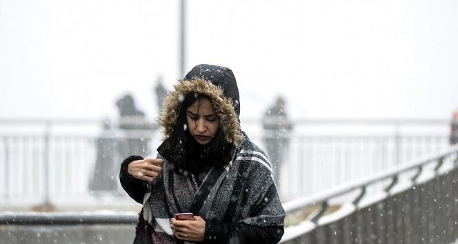 İstanbul'da yoğun kar yağışı bekleniyor!