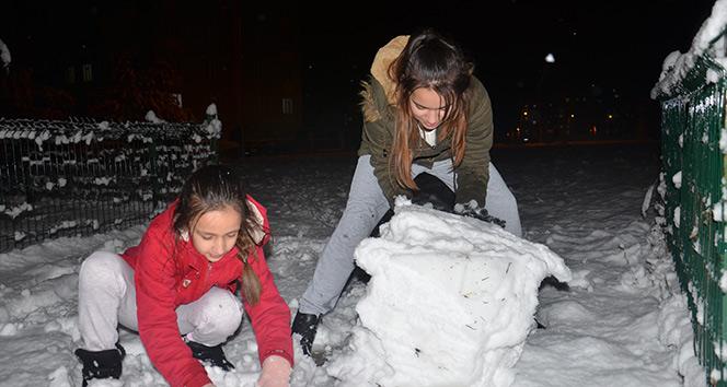 Kahramanmaraş'ta kar yağışı nedeniyle 2 ilçede okullar tatil