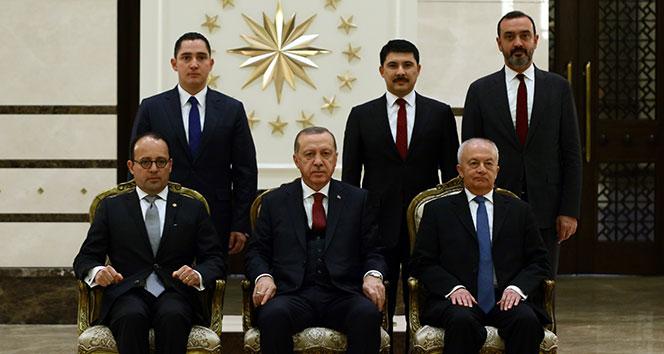 Cumhurbaşkanı Erdoğan, Kosta Rika Büyükelçisini kabul etti