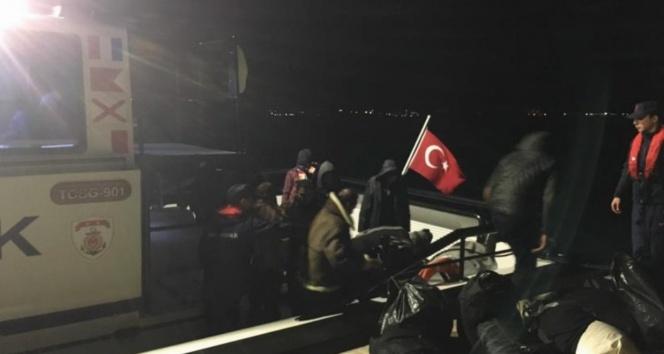 Didim'de 41 kaçak göçmen yakalandı!