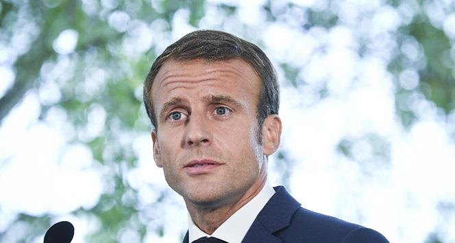 Macron: 'Ülkemizin sükunete ve düzene ihtiyacı var'