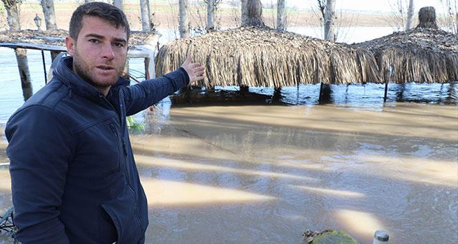 Kırılan baraj kapağının yükselttiği sular çekildi, zarar ortaya çıktı