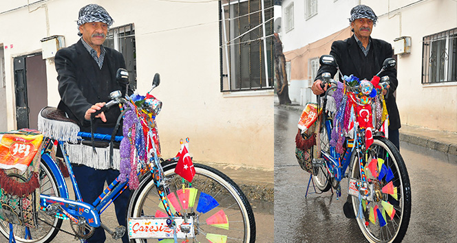 18 liraya aldığı bisikleti 10 bin liraya bile satmıyor