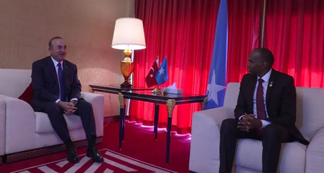Bakan Çavuşoğlu Somali Başbakanı Khayre ile görüştü