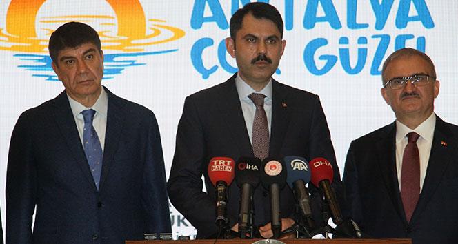 Bakan Kurum'dan Dicle Barajı açıklaması