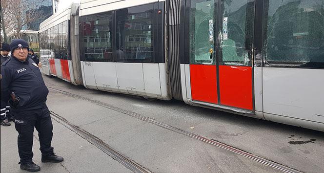 Topkapı'da tramvay kazası