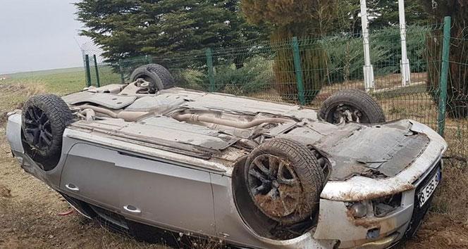Kırşehir'de kaza: 1 yaralı