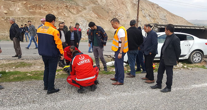 Siirt'te trafik kazası: 5 yaralı!