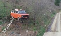 1985 model minibüsü havada görenler şaşkınlığını gizleyemiyor