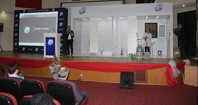 'Hijyenik Tuvalet Sağlıklı Gelecek' çalışmaları Erzurum'da devam ediyor