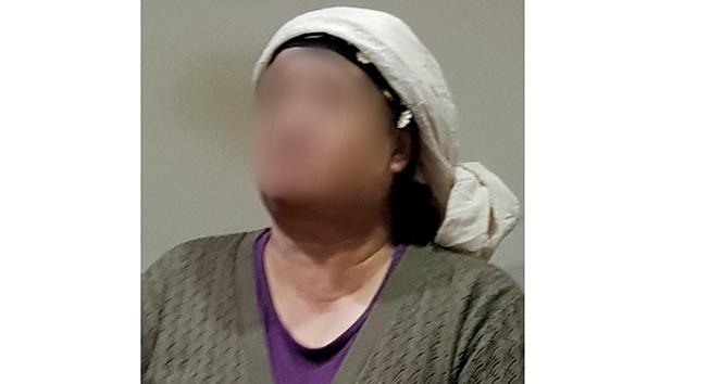 Marketten hindi çalmaya çalışan kadın yakalandı