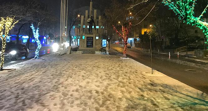 Keşan'da okullar kar nedeniyle yarın tatil