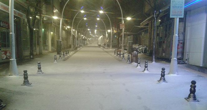 Tekirdağ'da yoğun kar: Eğitime 1 gün ara