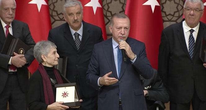 Cumhurbaşkanlığı Kültür ve Sanat Büyük Ödülleri sahiplerini buldu !