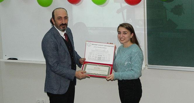 Sürekli eğitim merkezi pratik İtalyanca kursu tamamlandı