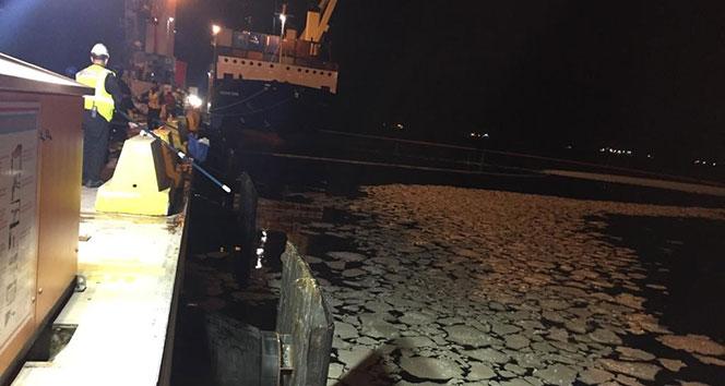 Körfez'i kirleten gemiye kesilen ceza 1 milyon 622 bin TL'ye yükseltildi