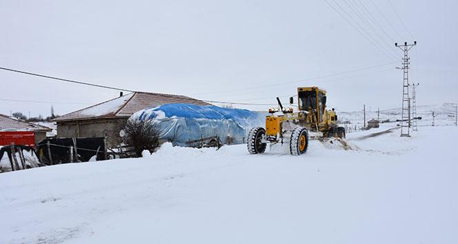Kırıkkale'de 185 köyün yolu ulaşıma açıldı