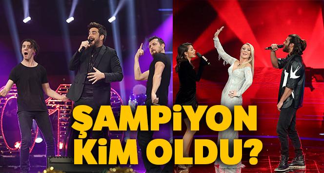 O Ses Türkiye yılbaşının birincisi kim oldu? O Ses Türkiye'de Yılbaşı'nda kim kazandı?