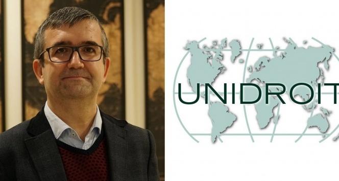 İHÜ Hukuk Fakültesi Dekanı Çalışkan, UNIDROIT yönetimine seçildi