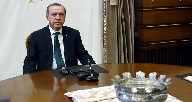 Erdoğan, Bakan Akar ve Orgeneral Güler'i kabul etti