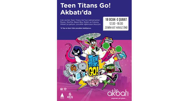 Teen Titans Go miniklerle buluşuyor