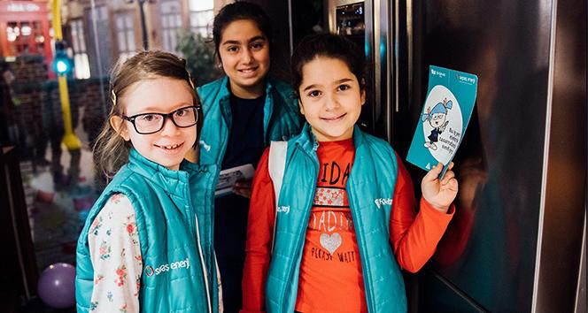 Çocuklar enerji tasarrufunu öğreniyor
