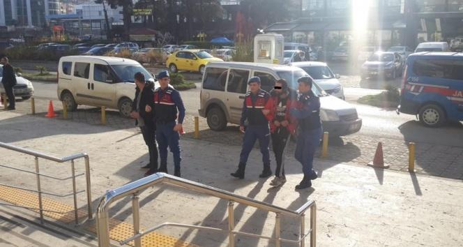Trabzon'da yakalandılar! 13 hırsızlık olayına karışmışlar