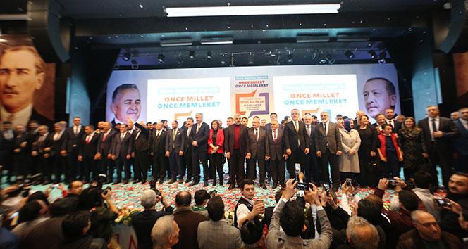 Kayseri'de Cumhur İttifakı'nın adayları tanıtıldı