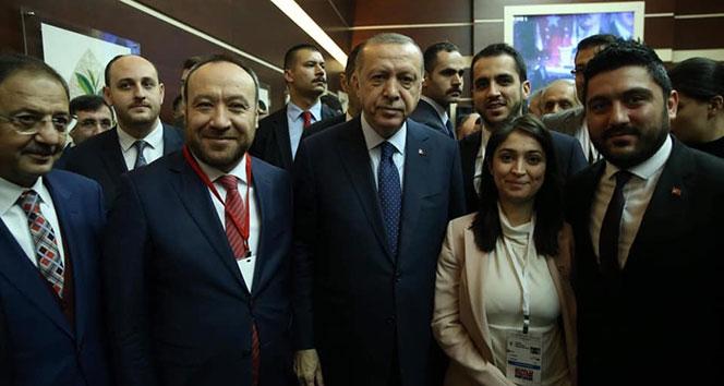Cumhurbaşkanı Erdoğan ile İl Başkanı Dağdelen görüştü